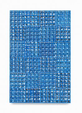 《hand:work》45.7×30.5×5.1cm木板、纸面油彩棒 2019  立木画廊