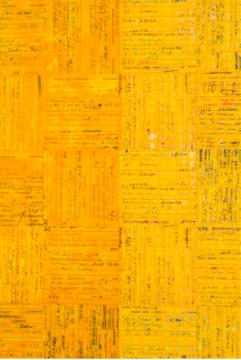 《ink:work》 101.6×60.96×5cm 木板、纸面油彩棒 2018 MDC画廊