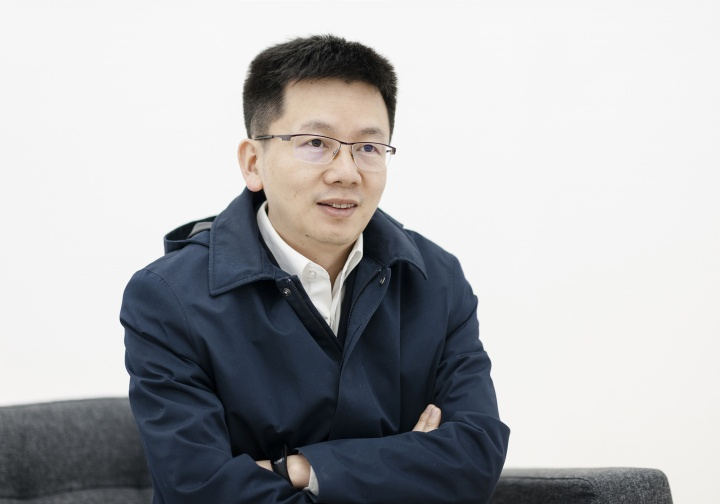 应惟伟 泰康保险集团助理总裁兼董事会秘书 (摄影:董林)