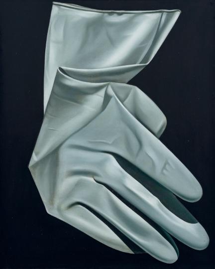 张培力《X?系列》99×79.5cm布面油画1987©️泰康收藏