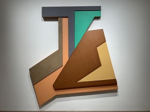 """美国极简主义大师弗兰克·斯特拉大中华区首展 厉为阁画廊带来""""波兰村庄"""""""