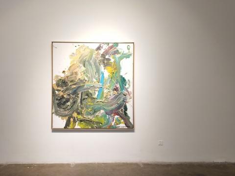 王易罡同名个展,索卡艺术展览现场