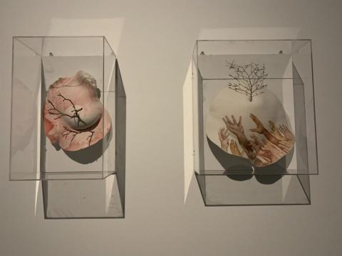 """在银川当代美术馆 倾听丝绸之路在今日的""""沉默叙述"""""""