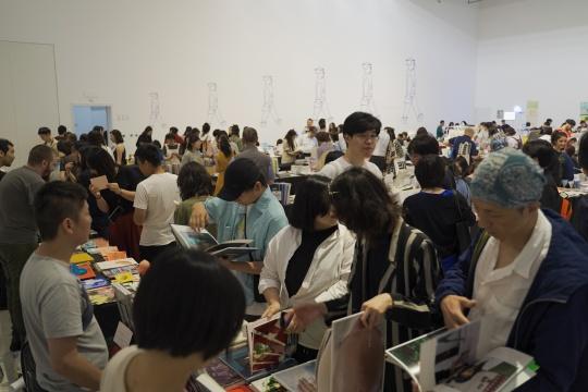 北京时代美术馆开幕2019abC艺术书展,带来不止于书的多元体验