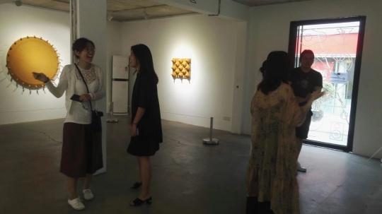 """唐国志个展""""转·象"""",凹凸空间展览现场"""