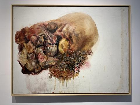 《存在与虚无3》 120×90cm 布面油画 2011