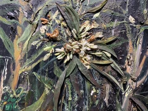 《故乡》 400×200cm 布面油画 2009