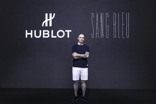 HUBLOT宇舶表品牌大使 刺青艺术家马克西姆·普莱西娅-布奇(Maxime Plescia-Buchi)