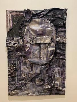 《几何物语之二》 200×136cm 金属着色 2013