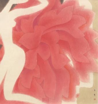 《东方图像志·谷》 75x72cm 纸本设色 2016