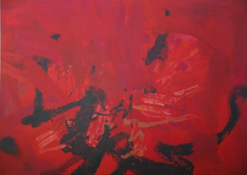 周长江《互补迹象15.5》200×280cm布面油画 2015年