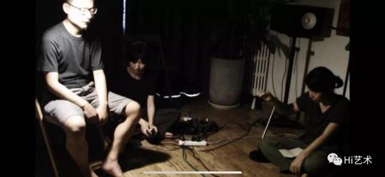 密集音乐会55,朱文博:灯的第二号(视频截帧)