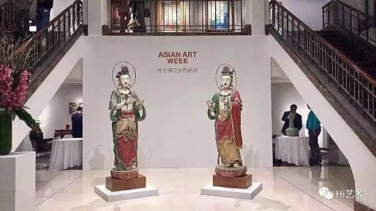 2018纽约秋季亚洲艺术周佳士得预展现场。图片:by Weixin Jin