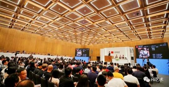 2018年中国嘉德现当代艺术斩获近4亿元,引领了内地市场当代艺术的反弹