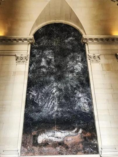 基弗位于法国卢浮宫的永久绘画作品《炼金炉》