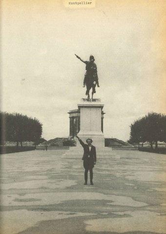 《占领》系列 黑白摄影拼贴1969