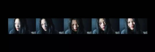 出自《冇》系列,脱离苦的可能性之撕裂——沉默五分43 x 14.48 cmGiclee Print2017-2018