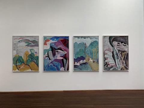 丁立人站台中国首展 剪纸中窥得中国传统艺术与现代性的融合