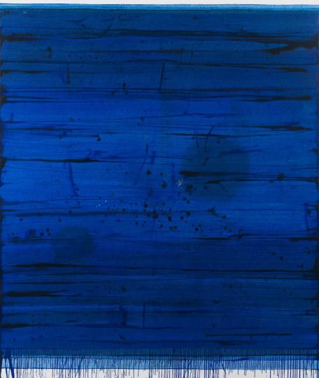 《空白90号》203×169cm 布面油画 2016 姚斯清博士收藏