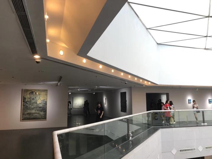 """孙策个展""""四张机""""展览现场,广东美术馆,2018,策展人:于洋"""