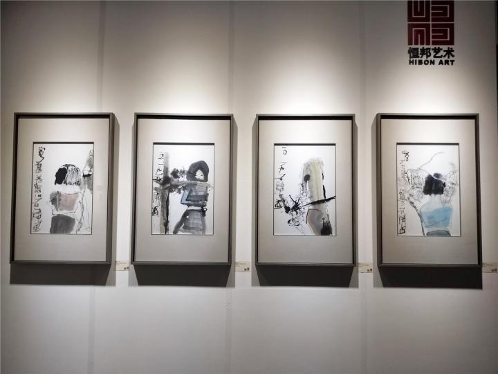 恒邦艺术带来艺术家石虎的水墨及重彩个展