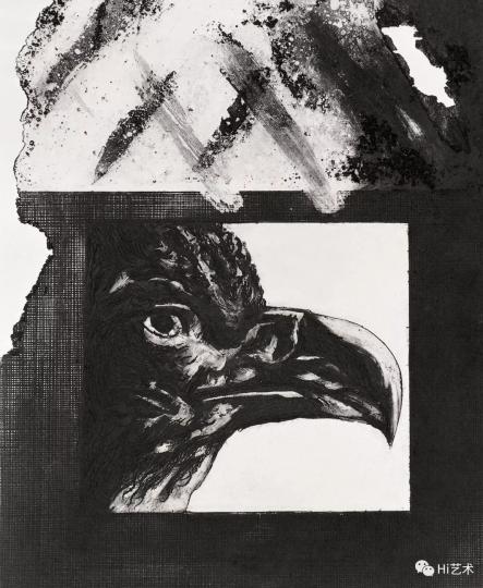 《视觉》36×29cm铜版1987