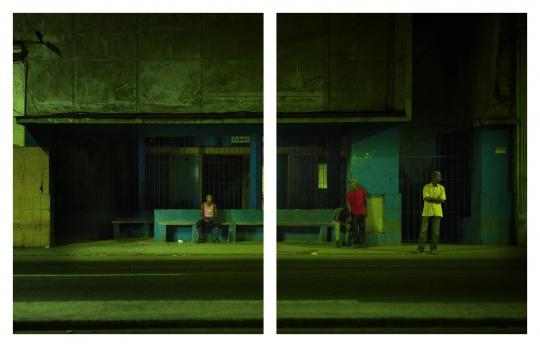 《Manuel Coca》122 x 152cm x2 合244x152cmEpson灯箱片艺术微喷/欧司朗LED灯/实木框架表面喷漆/总功率60瓦2012