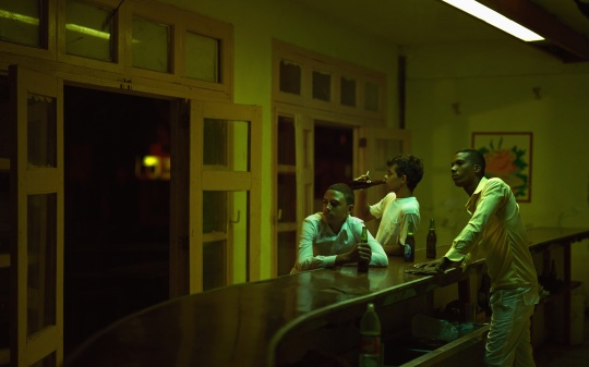《Rey Mascullo & Yasmany Ramirez & Javier Lopez》 160x100cmEpson灯箱片艺术微喷/欧司朗LED灯/实木框架表面喷漆/总功率32瓦2012