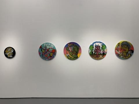 墨西哥画廊GALERÍAENRIQUE GUERRERO带来的哥伦比亚艺术家里卡多·穆尼奥斯·伊兹奎尔多(b.1985)作品