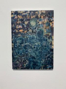 吉诺尼莫·埃莱斯佩 《速径》 20×14cm 铝板油画 2019
