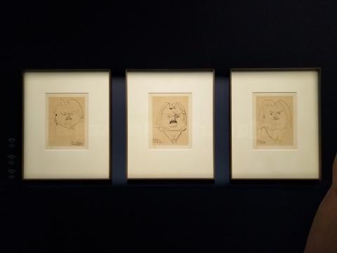 巴勃罗·毕加索笔下的巴尔扎克(石版画),1952