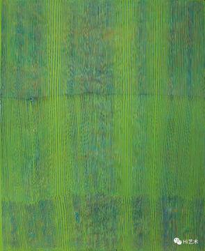 鞠婷 《+-121615》 223×183cm 木板丙烯 2016  成交价:16.1万元,刷新艺术家个人拍卖纪录  估价:3万-5万元