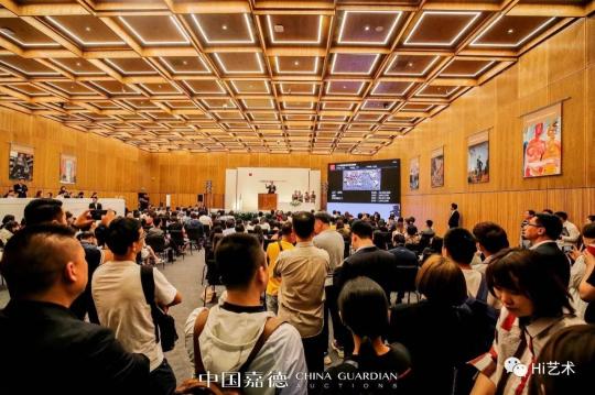 中国嘉德2019春拍现场(图片来源:嘉德官网)