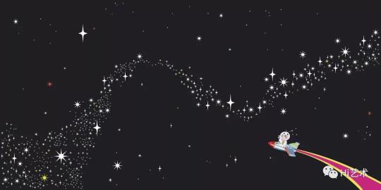 高瑀 《银河小英雄》(三联画) 300×200cm×3 布面丙烯 2009  成交价:92万元  估价:80万-100万元,2019中国嘉德春拍