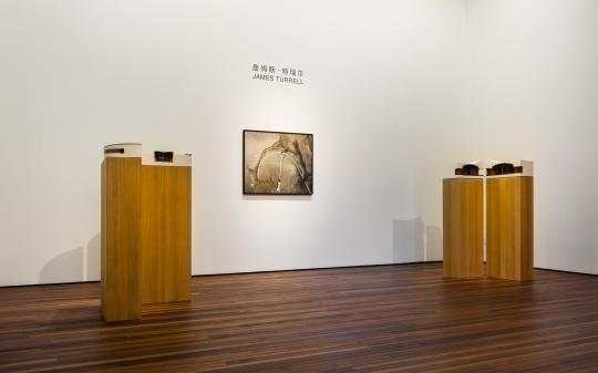 詹姆斯·特瑞尔火山系列作品,松美术馆展厅