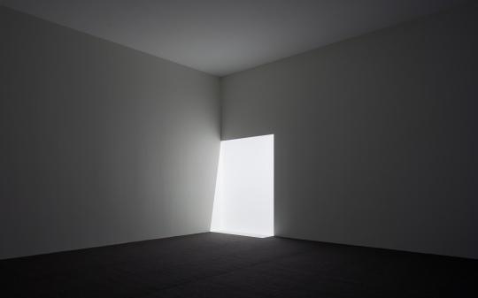 詹姆斯·特瑞尔版画系列作品,松美术馆展厅