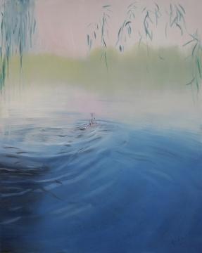 章剑《后海系列》250×200cm 布面油画 2011