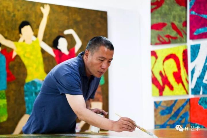 艺术家薛松
