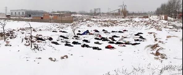 """戴卓群策划的""""暖冬""""艺术计划中的公共项目""""白日梦"""",2010"""