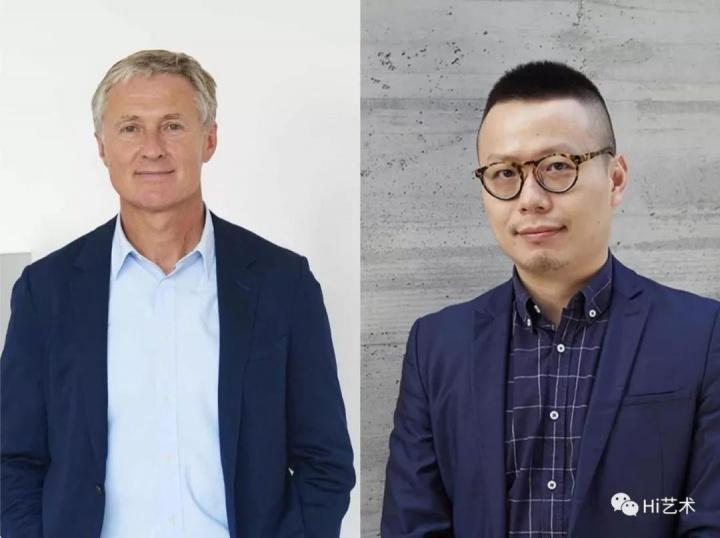 卓纳画廊创始人 大卫·卓纳&卓纳画廊香港空间艺术总监许宇