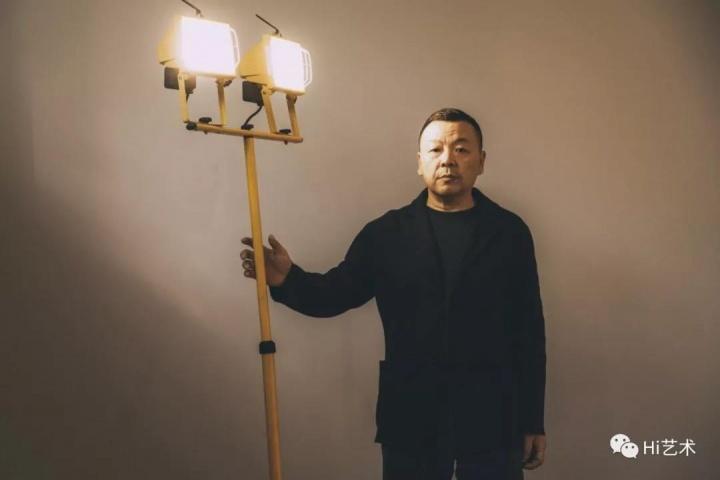 艺术家 刘野,摄影:神思远
