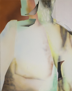 刘璐 《错位·肢体5》140x110cm 布面丙烯 2019