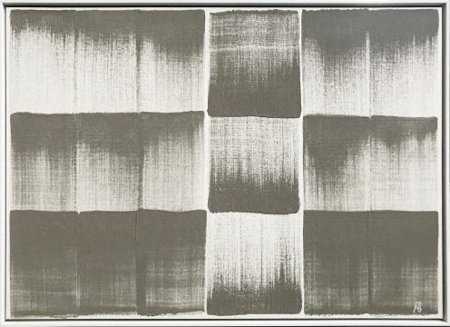 彭斯《矛盾与浩瀚之一》 综合材料 31x43cm2019