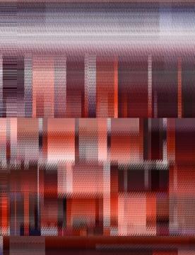 马晟哲 《Landscape-2019- No.3》宣纸+矿物质颜料艺术微喷+艺术树脂 80x60cm 2019