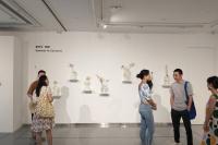 玻璃、水彩、造像、陶艺,金杜艺术中心的四种夏天,杜蒙,廖琛,鹿野骋,徐亮