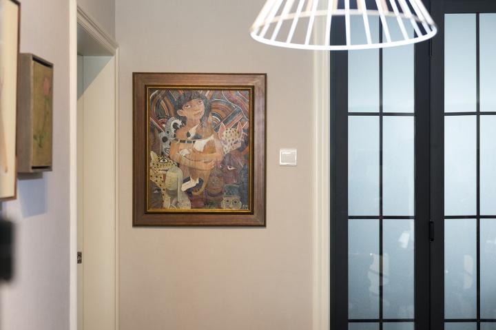 入手的第一件艺术品是刘冰的《非洲梦》