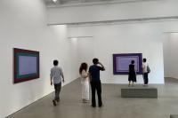 画了十年几何画框,王忠杰最新个展亮相魔金石空间,王忠杰