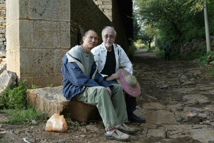 2006年,唐志冈、毛旭辉、蔡斯民在圭山