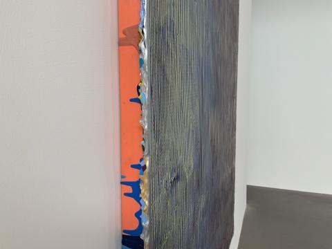 《珍珠061919》 125×155×8cm 木板丙烯 2019