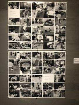 李巨川,《都市住居1994》,照片,1994,作品作为建筑方案参加了1994年度日本新建筑住宅设计国际竞赛,获三等奖